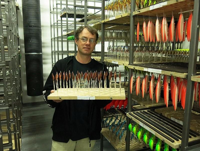Производство воблеров SALMO