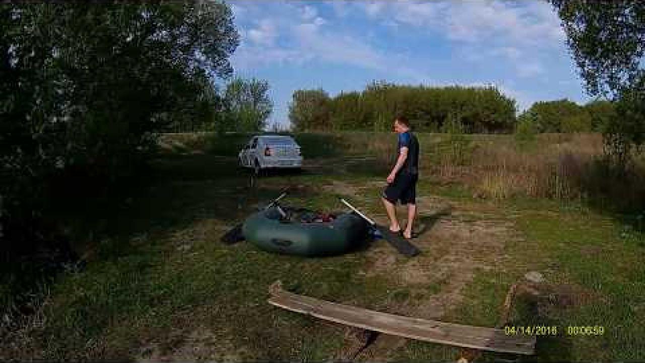Покатушки на лодке, щуки атакуют! с. Крутое Щигровский р н Курской области
