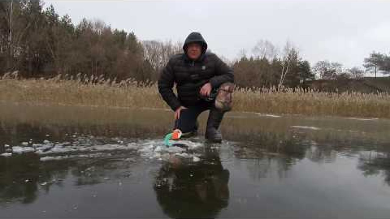 Открытие сезона лед 2018-2019 жерлицы и балансир