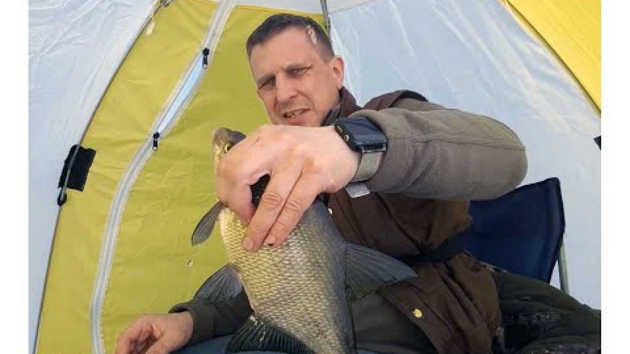 Жирная плотва и трофейные лещи порадовали на закрытие сезона зимней рыбалки